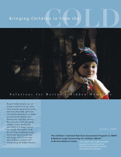 Bringing Children in from the Cold - Children's HealthWatch