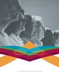 A Toolkit for Serving Diverse Communities - Administration on Aging