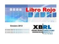 Libro Rojo - XBRL España