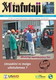 Mtafutaji mag2.indd - Tanzania Development Gateway
