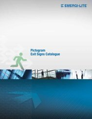 Pictogram Exit Signs Catalogue (Download PDF)