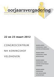 donderdag 22 maart 2012 - Nederlandse Vereniging voor Gastro ...