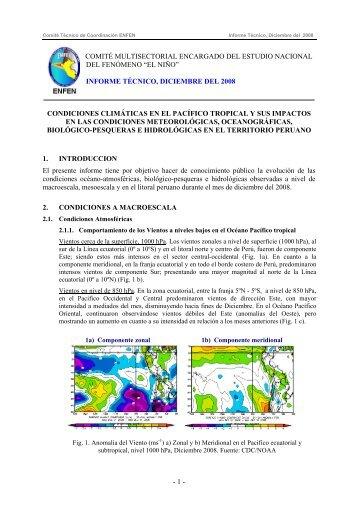 Informe Técnico Diciembre 2008 - Imarpe