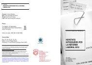 novetats introduïdes per la reforma laboral 2010 - Col·legi de ...