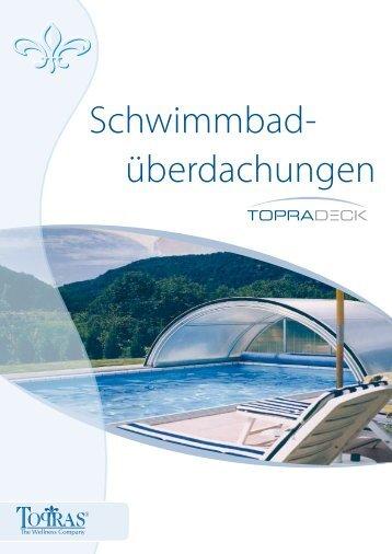 Topradeck Schwimmbadüberdachungen - Topras