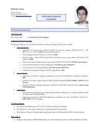 Roland Atoui Information Security Consultant