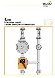 5.NR-2 Informazione prodotti Attuatori rotativi per valvole ... - Belimo
