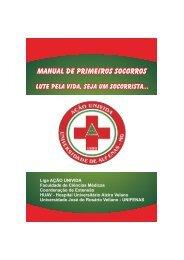 Manual de Primeiros Socorros - Ação Univida - Unifenas