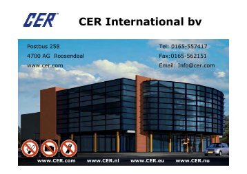 CER International bv from Device to Enterprise - KNX Professionals