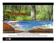 Invasive Terrestrial Plants on DWSP Watersheds