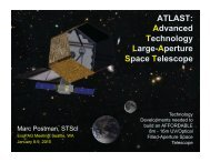 ATLAST: Advanced Technology Large-Aperture Space Telescope