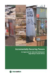 Incrementally securing tenure: An approach for ... - Urban LandMark