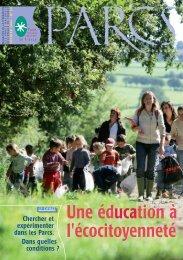 Revue 54 - pages 1 à 9 - Fédération des parcs naturels régionaux ...
