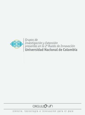 cartilla con los grupos en PDF). - Universidad Nacional de Colombia