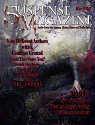 TeD DeKker - Suspense Magazine