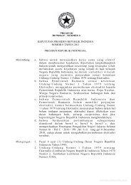 Keputusan Presiden Nomor 08 Tahun 2011 - Perundangan ...