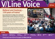 Ballarat and Geelong – 150 years of trains! - V/Line