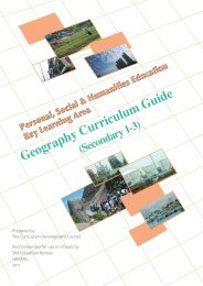 secondary schools curriculum guide personal, social and - 教育局