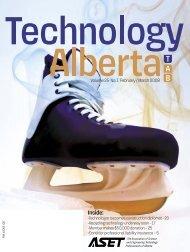 Technology Alberta feb/mar08 - ASET