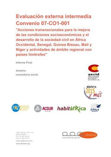 evaluación externa intermedia del convenio 07-co1-001 - IEPALA