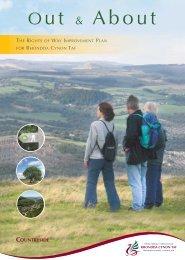 The Rights of Way Improvement Plan for RCT - Rhondda Cynon Taf