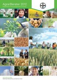 AgrarBerater 2012 - Bayer CropScience Deutschland GmbH