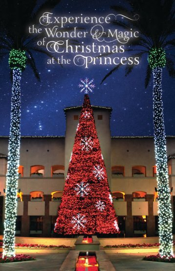 fairmont scottsdale princess christmas 2013 offer