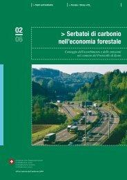 Serbatoi di carbonio nell'economia forestale - Waldwissen.net