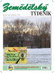 Zemědělský týdeník 3/2011