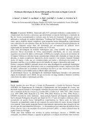 Modelação Hidrológica de Bacias Hidrográficas Florestais ... - ESAC