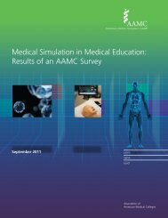 Medical Simulation in Medical Education - Association of American ...