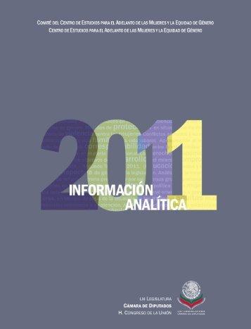 Información Analítica 2011 - Cámara de Diputados