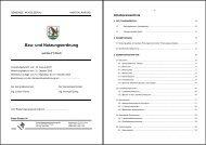 Bau- und Nutzungsordnung - Gemeinde Moosleerau