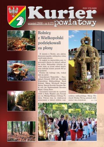 Kurier Powiatowy nr 4(77) - Powiat koniński