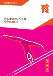 London 2012 Explanatory Guide Gymnastics - Rero Doc