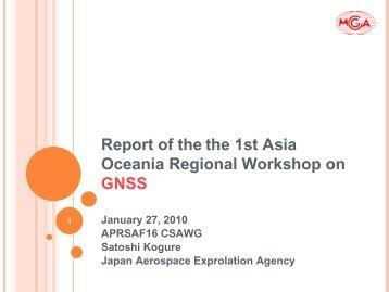 GNSS 5 - APRSAF