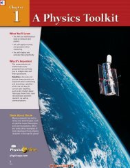 Chapter 1: A Physics Toolkit - HPhysics Home Page