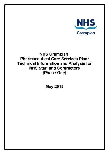 NHS Grampian: Pharmaceutical Care Services Plan ... - HI-Net