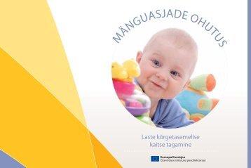 Brošüür mänguasjade ohutuse kohta - Europa