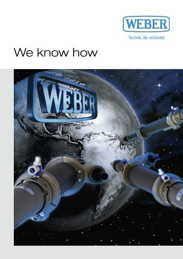 We know how - Weber Schraubautomaten