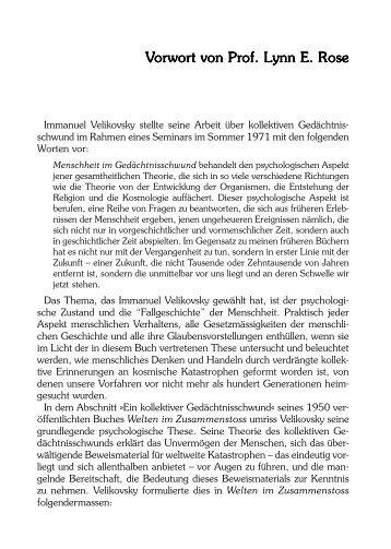 Vorwort - Julia White Publishing