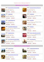 Bangkok Sightseeing by E-Biz Travel; Thailand Travel Guides and ...