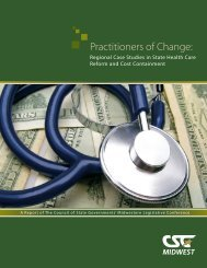Practitioners of Change: Regional Case Studies in ... - CSG Midwest