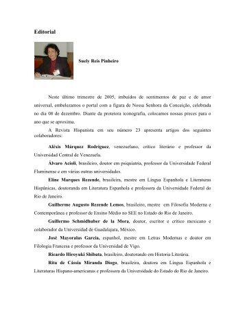 EDITORIAL 23 - Revista Hispanista