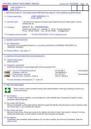 Safety Data Sheet - Krafft