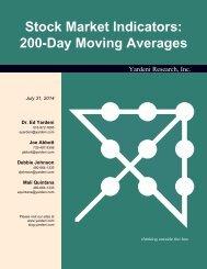 200-Day Moving Averages - Dr. Ed Yardeni's Economics Network