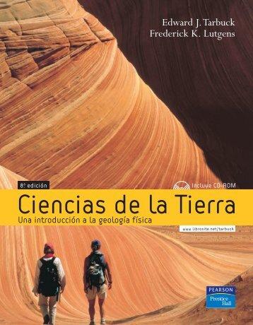 TARBUCK y LUTGENS, Ciencias de la Tierra (8va ed.)