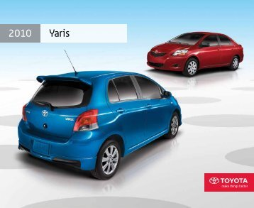 2010 Yaris - Toyota Canada