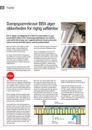 Dampspærrekrave BBX øger sikkerheden for rigtig udførelse - Velux