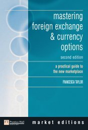 mastering foreign exchange & currency options - TiERA